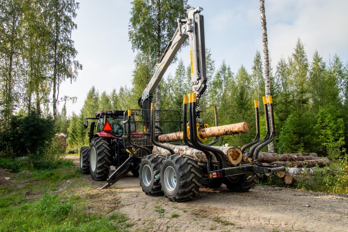 Remorques forestières KESLA homologuées route